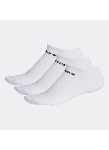 adidas Erkek No Show 3Pp Spor Çorap CF3385 Beyaz